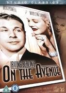 On the Avenue - British DVD cover (xs thumbnail)