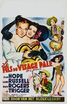 Son of Paleface - Belgian Movie Poster (xs thumbnail)