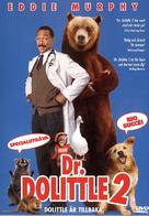 Doctor Dolittle 2 - Swedish DVD cover (xs thumbnail)