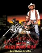 Harley Davidson and the Marlboro Man - German DVD cover (xs thumbnail)