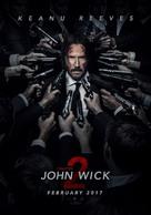 John Wick: Chapter Two - Lebanese Movie Poster (xs thumbnail)