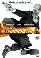 The Transporter - British DVD movie cover (xs thumbnail)