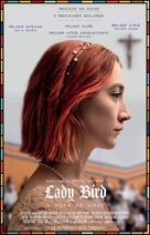 Lady Bird - Brazilian Movie Poster (xs thumbnail)