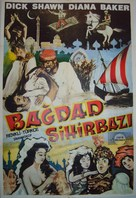 The Wizard of Baghdad - Turkish Movie Poster (xs thumbnail)