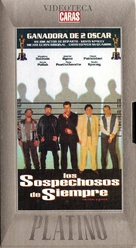 The Usual Suspects - Argentinian VHS movie cover (xs thumbnail)