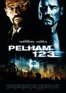 The Taking of Pelham 1 2 3 - German Movie Poster (xs thumbnail)