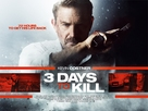 Three Days to Kill - British Movie Poster (xs thumbnail)