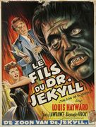 The Son of Dr. Jekyll - Belgian Movie Poster (xs thumbnail)