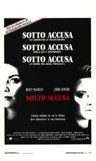 The Accused - Italian Movie Poster (xs thumbnail)