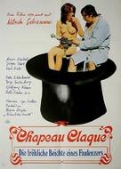 Chapeau claque - German Movie Poster (xs thumbnail)