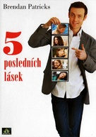 My Last Five Girlfriends - Czech DVD cover (xs thumbnail)