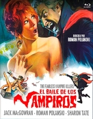Dance of the Vampires - Spanish Movie Cover (xs thumbnail)