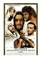 The Greatest Story Ever Told - German Movie Poster (xs thumbnail)