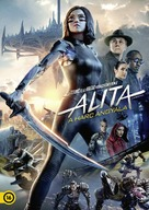 Alita: Battle Angel - Hungarian DVD movie cover (xs thumbnail)