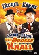 The Big Noise - German DVD cover (xs thumbnail)