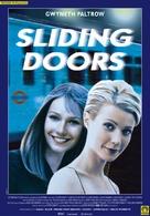 Sliding Doors - Italian Movie Poster (xs thumbnail)