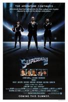Superman II - Teaser movie poster (xs thumbnail)