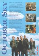 October Sky - German Movie Poster (xs thumbnail)