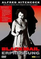 Blackmail - German DVD cover (xs thumbnail)