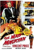 The Mad Magician - Spanish Movie Cover (xs thumbnail)
