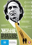 William Kunstler: Disturbing the Universe - Australian DVD cover (xs thumbnail)