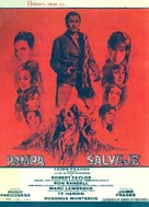 Savage Pampas - Spanish Movie Poster (xs thumbnail)