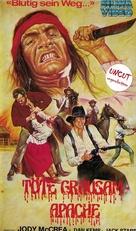 Cry Blood, Apache - German VHS cover (xs thumbnail)