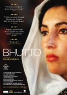 Benazir Bhutto - Italian Movie Poster (xs thumbnail)