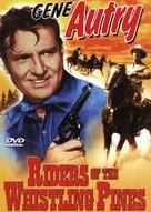 Riders of the Whistling Pines - DVD cover (xs thumbnail)