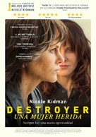 Destroyer - Spanish Movie Poster (xs thumbnail)