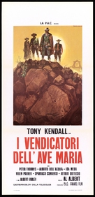 I vendicatori dell'Ave Maria - Italian Movie Poster (xs thumbnail)
