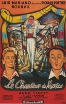 Chanteur de Mexico, Le - French Movie Poster (xs thumbnail)