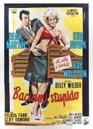 Kiss Me, Stupid - Italian Movie Poster (xs thumbnail)