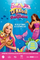 Barbie: Dolphin Magic - French Movie Poster (xs thumbnail)