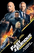 Fast & Furious Presents: Hobbs & Shaw - Singaporean Movie Poster (xs thumbnail)
