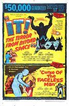 Curse of the Faceless Man - Combo poster (xs thumbnail)
