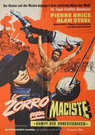 Zorro contro Maciste - German Movie Poster (xs thumbnail)