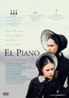 The Piano - Spanish Movie Cover (xs thumbnail)