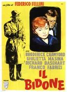 Il bidone - Italian Movie Poster (xs thumbnail)