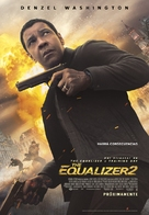 The Equalizer 2 - Spanish Movie Poster (xs thumbnail)