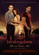 The Twilight Saga: Breaking Dawn - Part 1 - German Movie Poster (xs thumbnail)