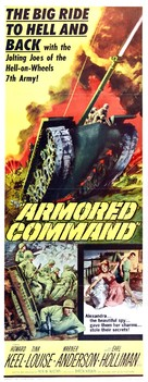 Armored Command - Movie Poster (xs thumbnail)