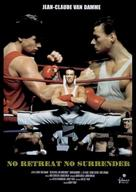 No Retreat, No Surrender - DVD cover (xs thumbnail)