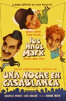 A Night in Casablanca - Argentinian Movie Poster (xs thumbnail)