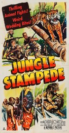 Jungle Stampede - Movie Poster (xs thumbnail)