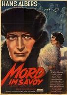 Savoy-Hotel 217 - German Movie Poster (xs thumbnail)