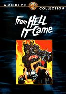 From Hell It Came - DVD cover (xs thumbnail)