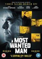 A Most Wanted Man - British DVD cover (xs thumbnail)