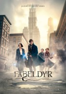 Fantastic Beasts and Where to Find Them - Norwegian Movie Poster (xs thumbnail)