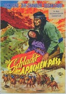 The Battle at Apache Pass - German Movie Poster (xs thumbnail)